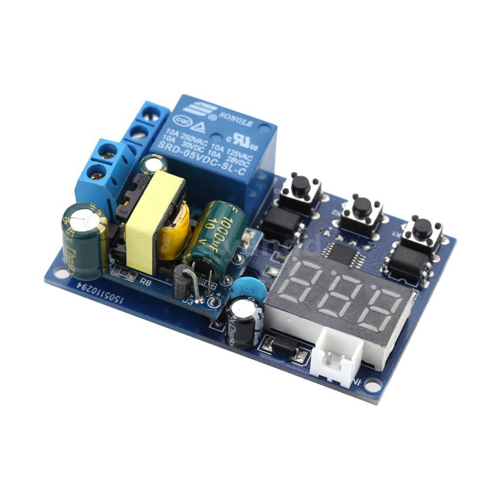 AC 220V LED Automation Digital Delay Timer Steuerung Relais Schaltmodul L5M8